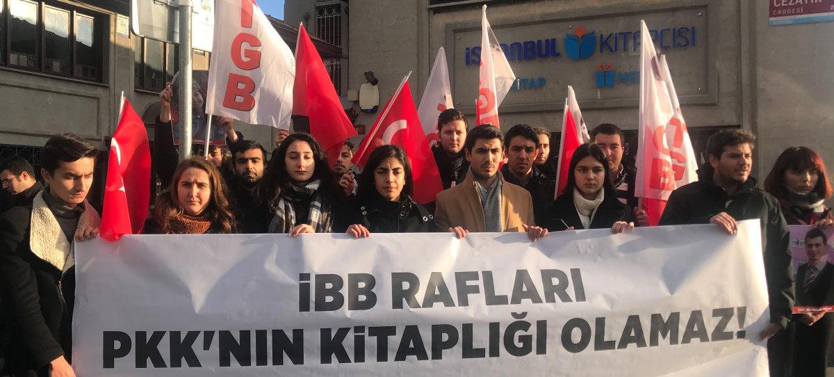 İBB Rafları PKK Kitaplığı Olamaz!