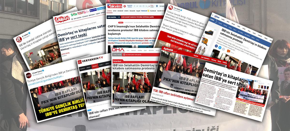 TGB'nin İBB Protestosuna Basından Büyük İlgi