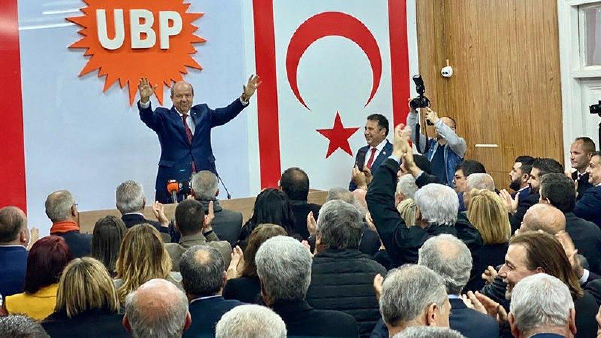 KKTC'de Ersin Tatar Adaylığını Açıkladı: Gazamız Mübarek Olsun!