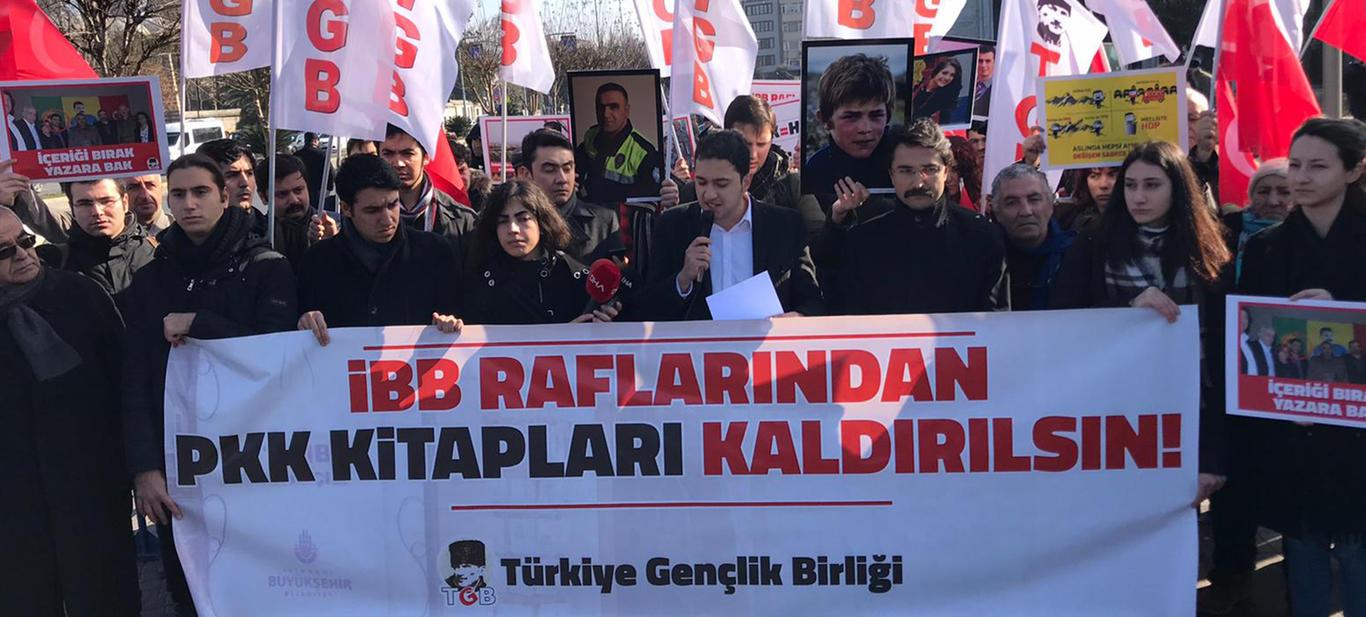 İBB Raflarından PKK Kitapları Kaldırılsın!