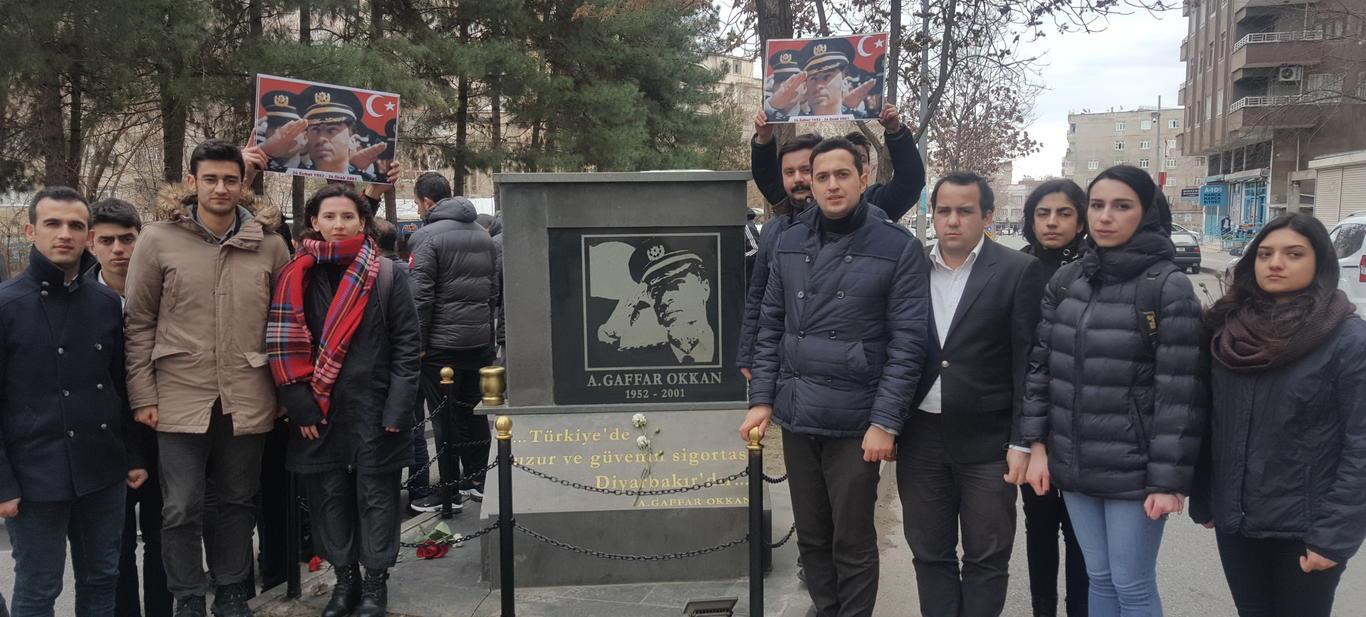 TGB Gaffar Okkan'ı Diyarbakır'da Andı