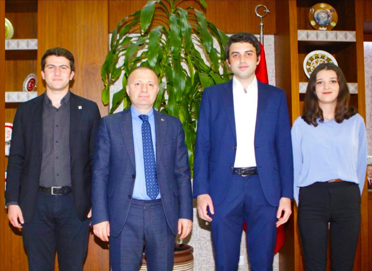 TGB'den Akdeniz Üniversitesi Rektörlüğüne Ziyaret