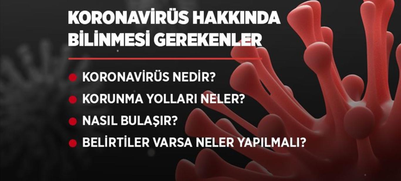 Korona Virüsü Hakkında Bilinmesi Gerekenler