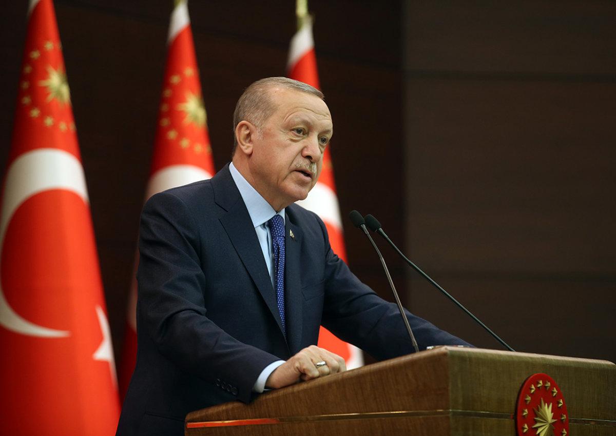 Cumhurbaşkanı Erdoğan Koronavirüsle Mücadele Paketini Açıkladı