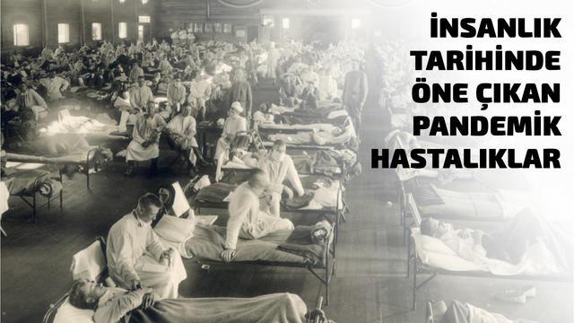 İnsanlık Tarihinde Öne Çıkan Pandemik Hastalıklar