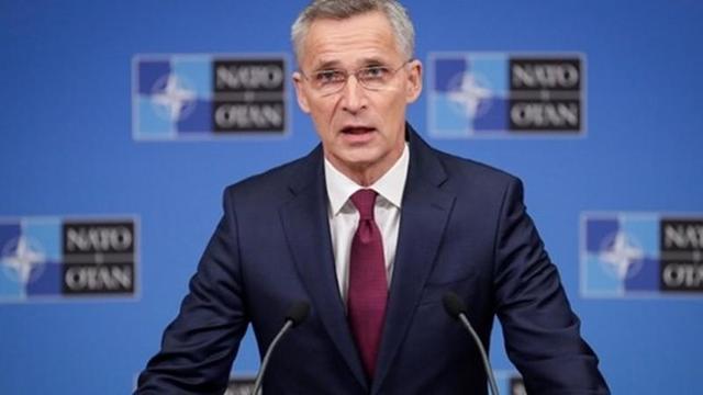 NATO Genel Sekreteri Stoltenberg, Libya Başbakanı Serrac'la Görüştü