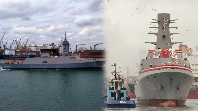 Donanmaya Yeni Milli Gemi