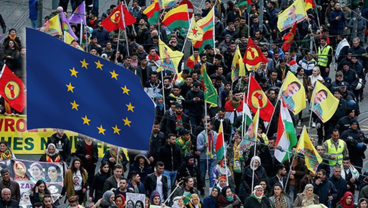 İstihbarat Raporunda İtiraf: Avrupa PKK'ya Nefes Oluyor