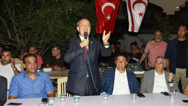 KKTC halkı: Türkiye ile iyi ilişkisi olan Cumhurbaşkanı istiyoruz