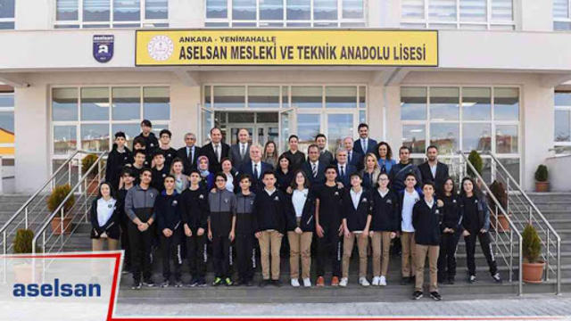 Lise Adaylarının Tercihi: ASELSAN Mesleki ve Teknik Anadolu Lisesi