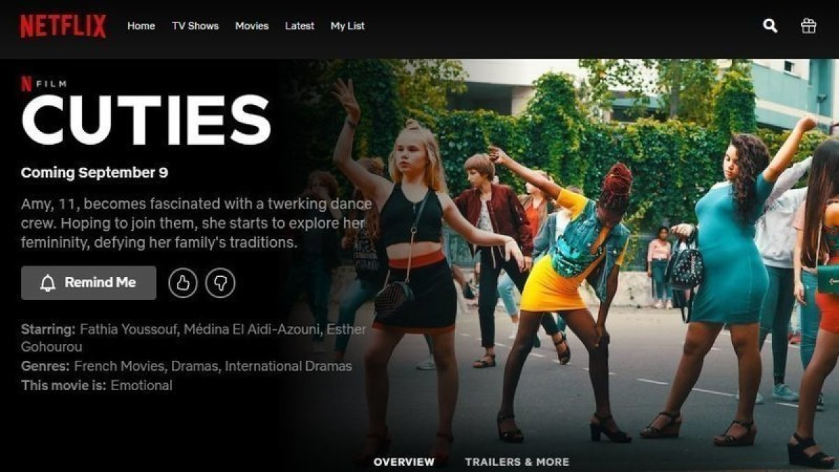 Netflix Çocuk İstismarını Teşvik Ediyor