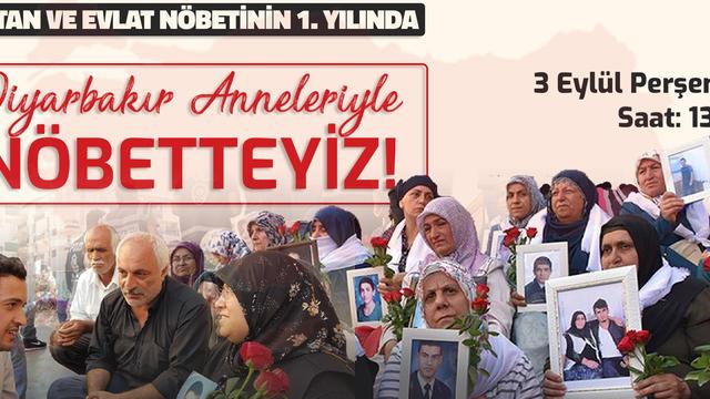 Vatan ve Evlat Nöbetinin 1. Yılında Diyarbakır'dayız!
