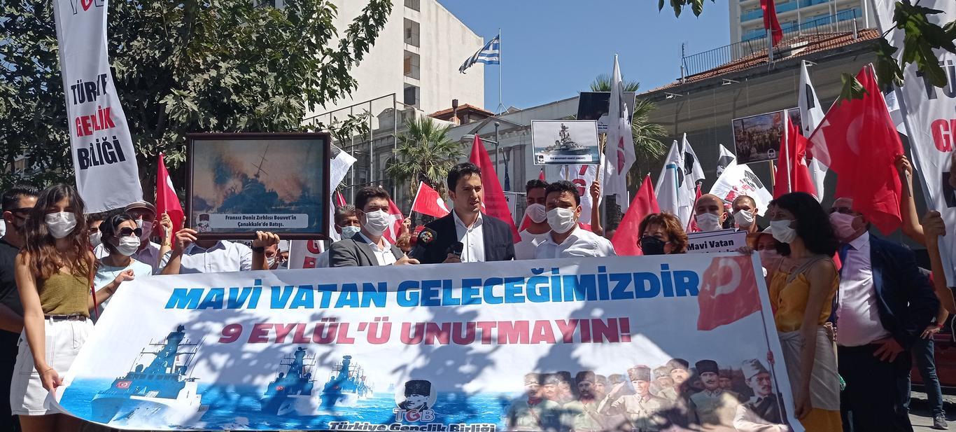 Yunanistan Başkonsolosluğu Önünden Uyardık: 9 Eylül'ü Unutmayın!