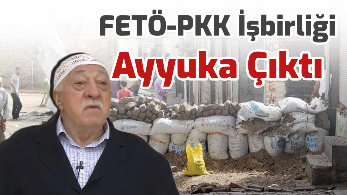 FETÖ-PKK İşbirliği Ayyuka Çıktı