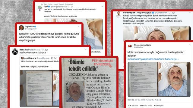 PKK Medyasının HDP İle Ortaya Attığı Yalan Tutmadı!