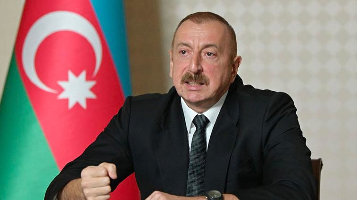 Aliyev: Ermenistan Rusya'yı savaşa çekmeye çalışıyor