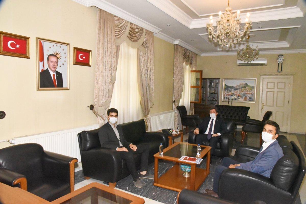 TGB Muğla'dan Valiliğe Ziyaret
