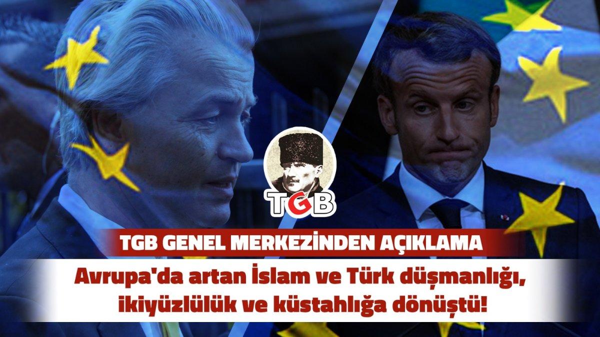 Avrupa'da İslam ve Türk Düşmanlığı İkiyüzlülük ve Küstahlığa Dönüştü