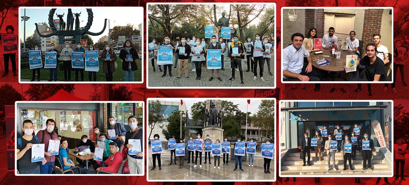 Türkiye'nin 81 İlinde Mavi Vatan Coşkusu