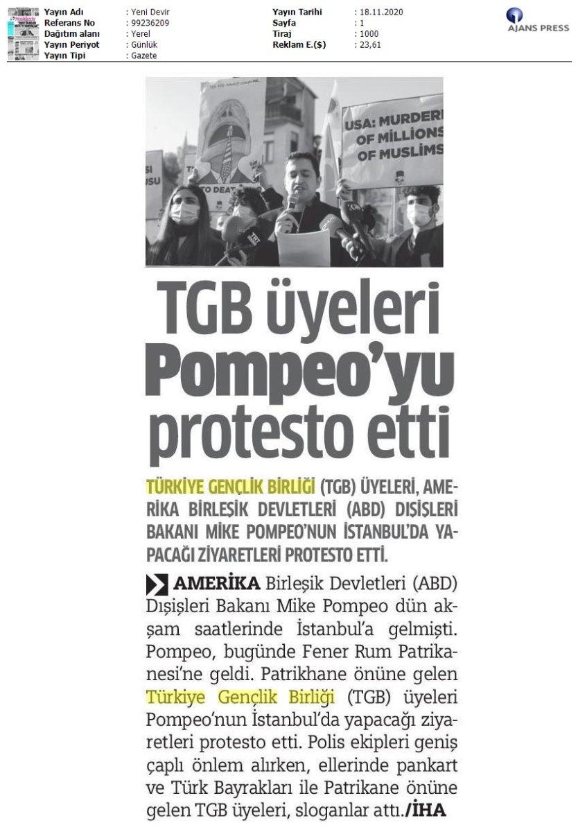 Yeni Devir Gazetesi