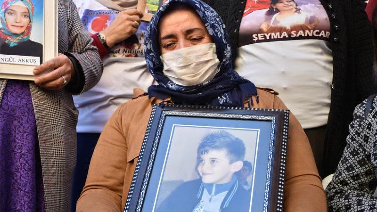 Annelerden HDP'ye tepki: 9 Yaşındaki Oğlumun Hakları Yok muydu?