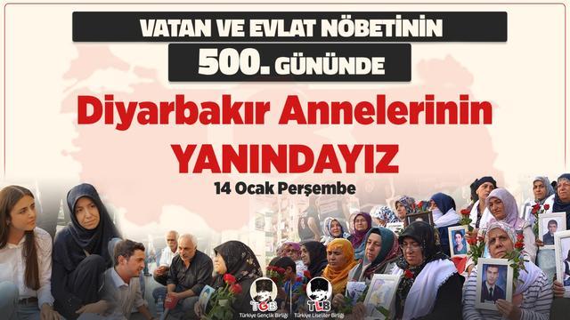 500. Gününde Diyarbakır Annelerinin Yanındayız