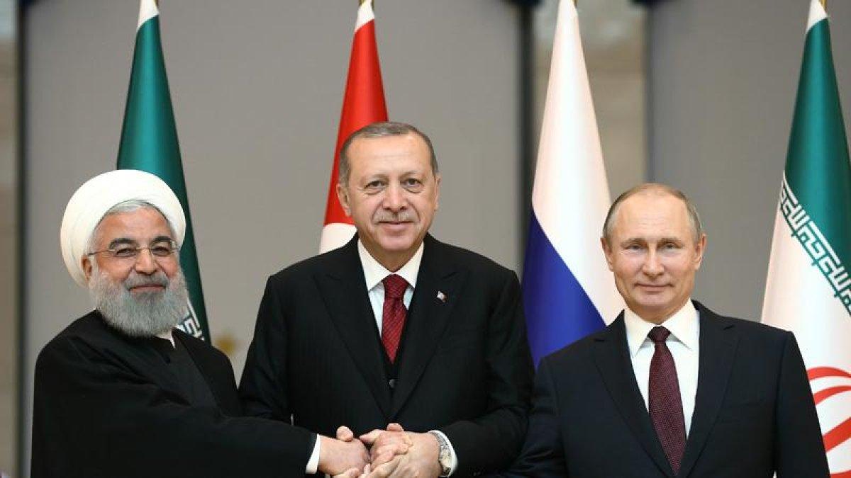 İsrail Basını: ABD'ye karşı Türkiye, Rusya, Çin ve İran İttifakı