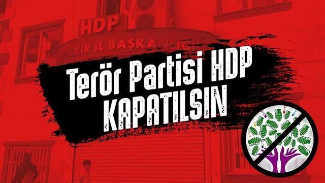 HDP'nin kapatılması için bir dakika bile beklenemez!