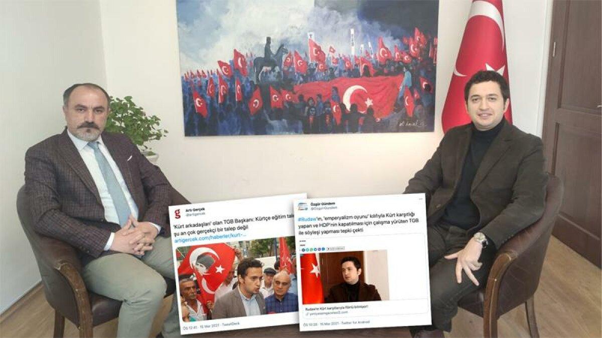 Rudaw'ın TGB röportajı, HDP/PKK'da rahatsızlık yarattı