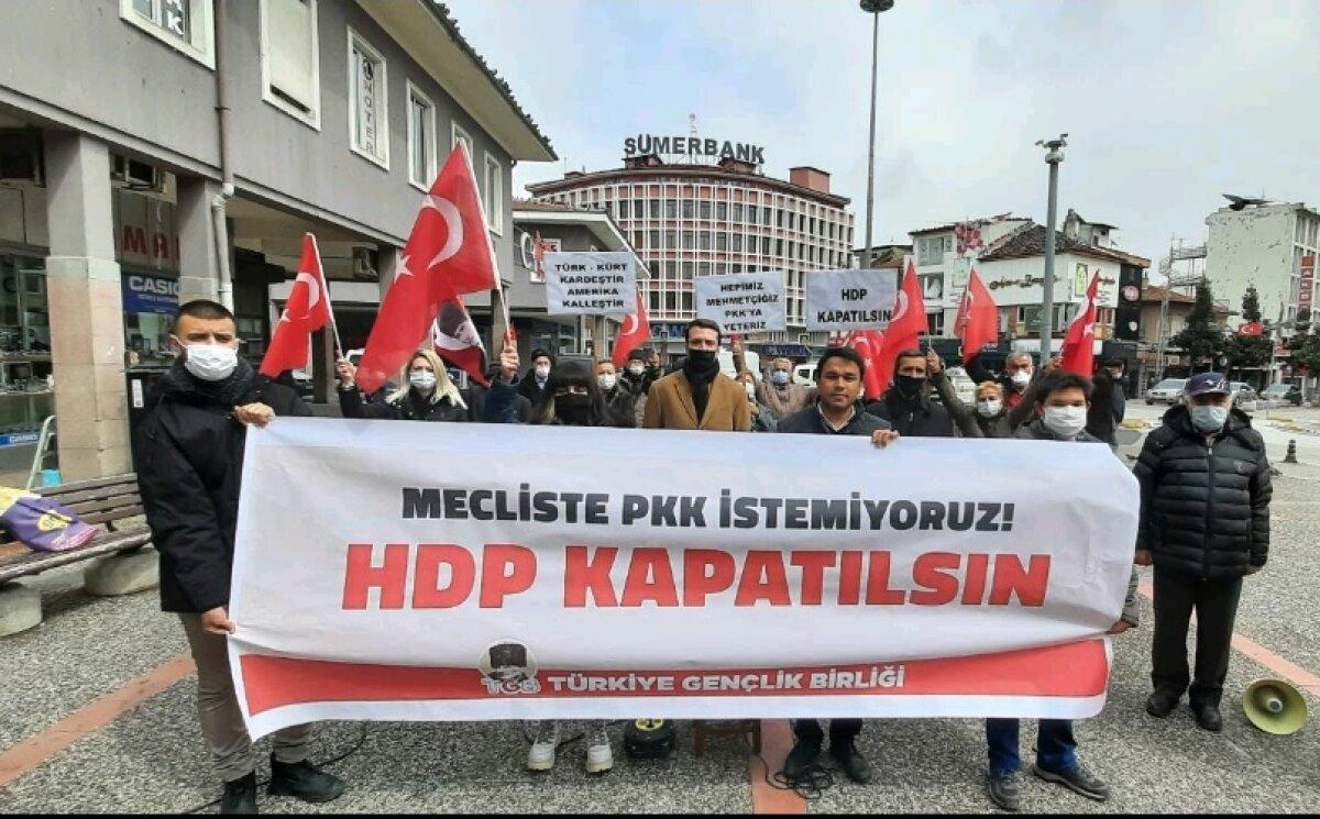 TGB'NİN HDP KAPATILSIN ÇAĞRISI BALIKESİR'DE YÜKSELDİ
