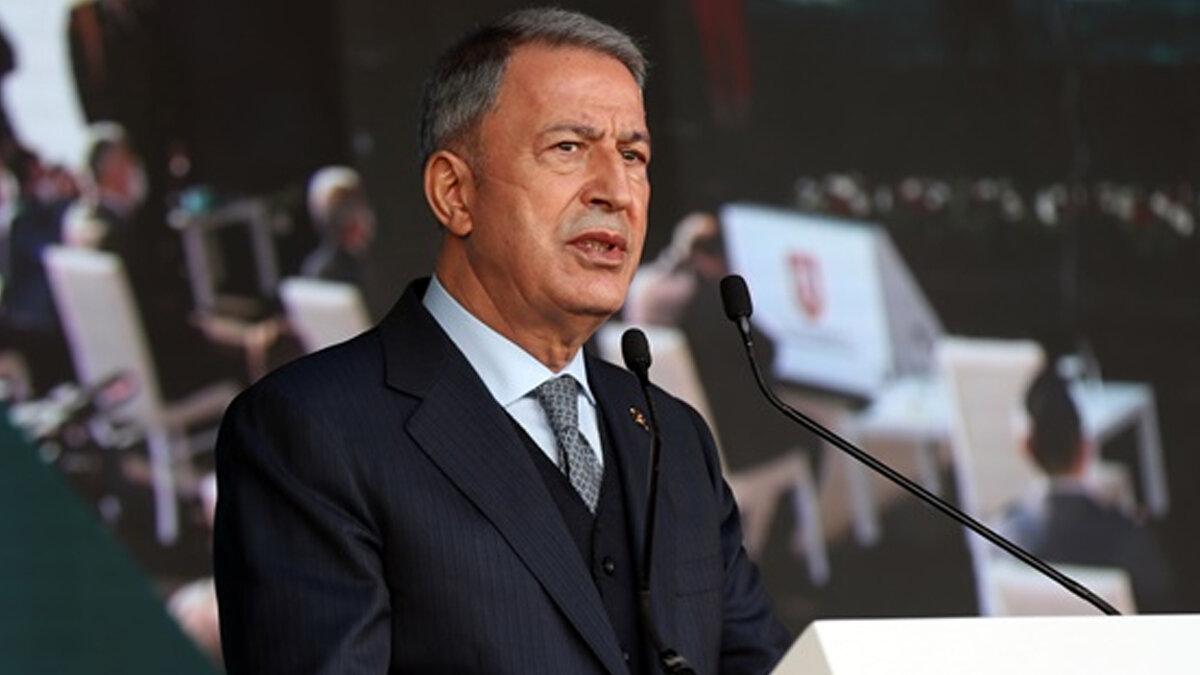 Hulusi Akar: ''Atatürk hassasiyetimizi herkesin bilmesi lazım''