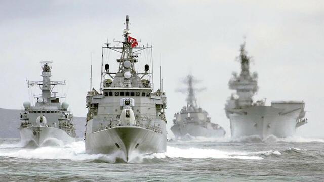 Fransız girdi, Yunan eşlik etti, Türk Donanması kovdu!