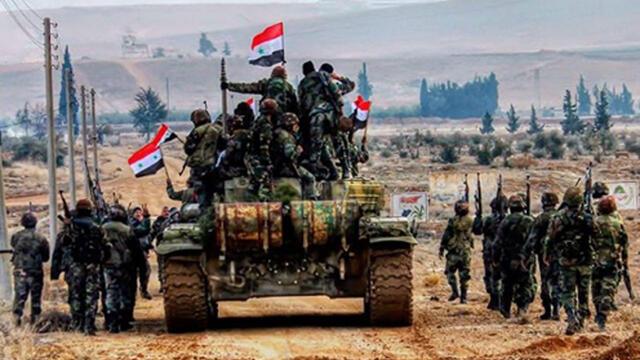 Esad Rejimi Suriye'deki PKK Terör Örgütünü İmha Etmeye Başladı