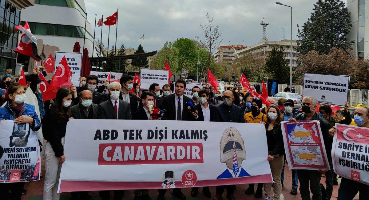 Ankara-ABD Büyükelçiliği Önü