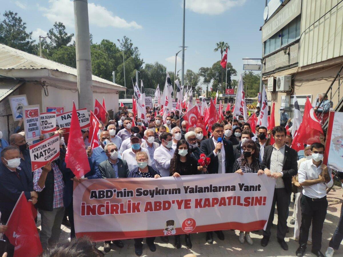 Adana-İncirlik Üssü Önü