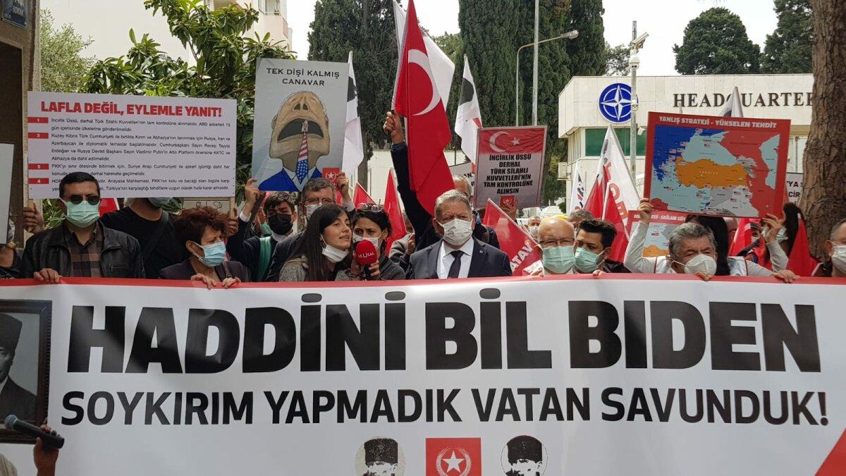 İzmir-NATO Karargahı Önü