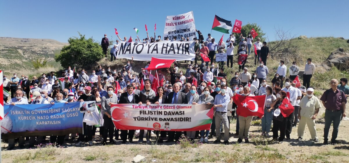 TGB: Kürecik İsrail'e Kapatılsın, Siyonizmin Gözü Kör Olsun