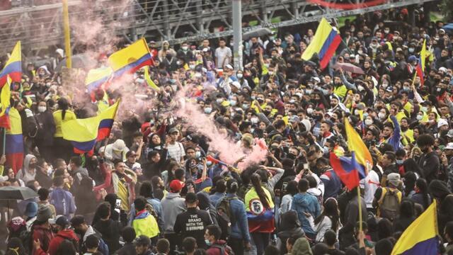 REVOLUTIONARY WAVE RISES IN LATIN AMERICA