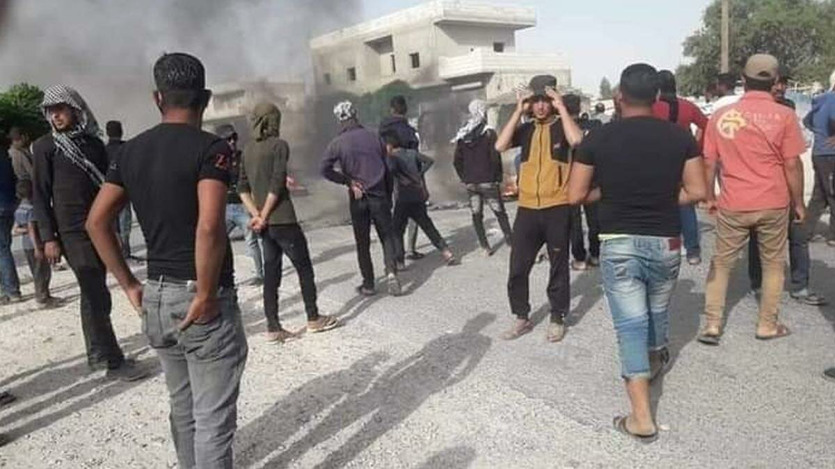 YPG/PKK'ya Karşı Münbiç'te İsyan