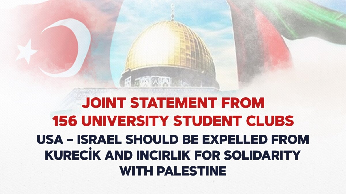 JOINT STATEMENT FROM 156 UNIVERSITY STUDENT CLUBS FOR PALESTINE