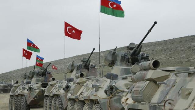 Türkiye ve Azerbaycan Atatürk Tatbikatı'nda