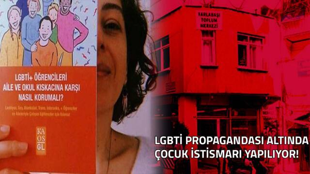 Tarlabaşı Toplum Merkezi'nde LGBTİ Propagandasıyla Çocuk İstismarı Yapılıyor!