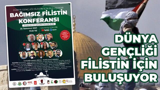 Antiemperyalist gençlik Filistin için buluşacak