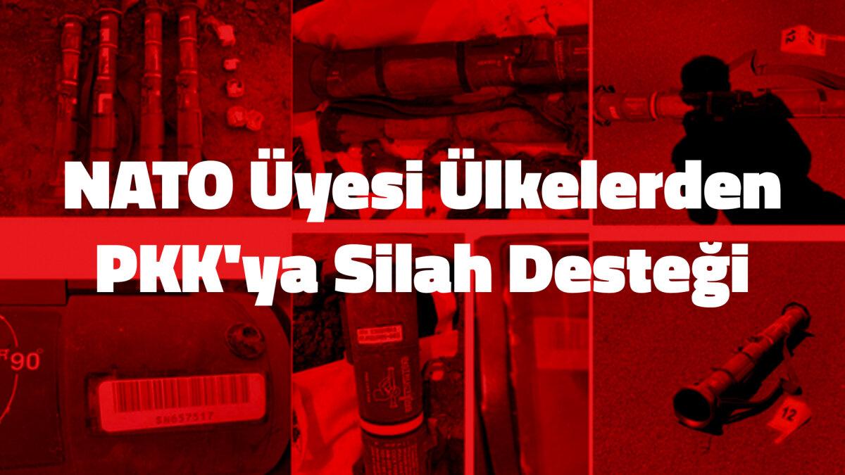 NATO Üyesi Ülkelerden PKK'ya Silah Desteği
