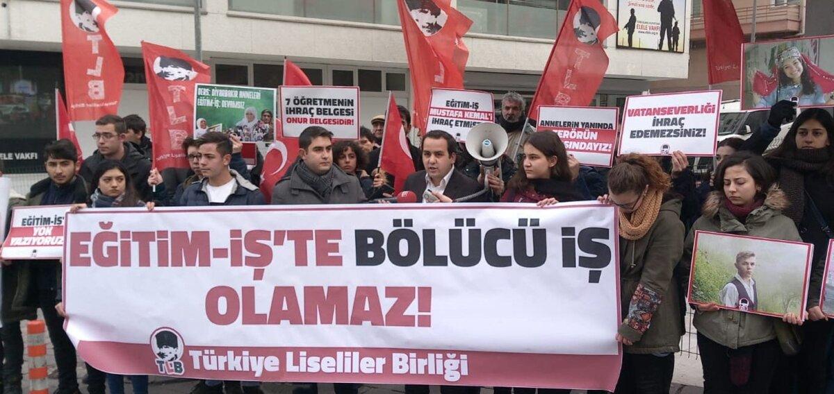 EĞİTİM İŞ HDP/PKK İLE KADER BİRLİĞİ YAPIYOR