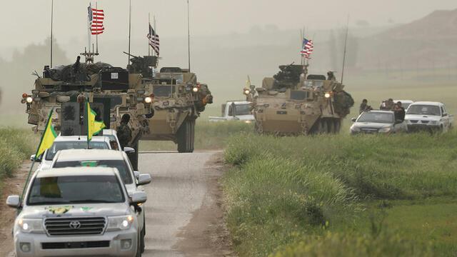 ABD, YPG İle Türkiye'yi Görüştü