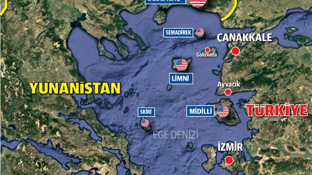 ABD Türkiye'yi Dört Bir Yandan Kuşatmaya Çalışıyor
