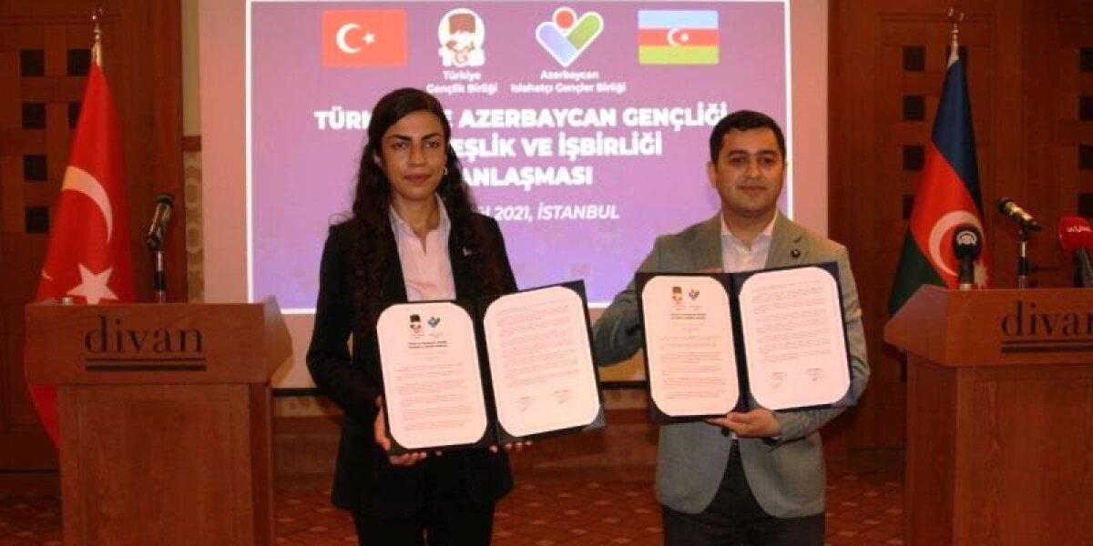 """Azerbaycan Gençliği ile Yaptığımız """"Kardeşlik ve İşbilirliği"""" Anlaşması"""