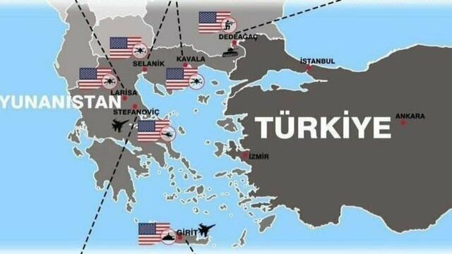 ABD ve Fransa Yunanistan'ı İşgal Etti